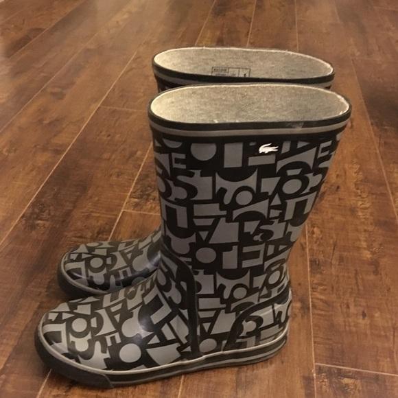 0f32f56c826ed Lacoste Rain Boots